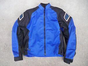 Shift Biker Chopper Crotch Rocket W/ Armor Cafe Racer Motorcycle Jacket Women LG