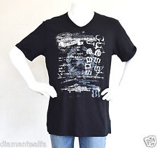 GUESS Men's Graphic Short Sleeve T-Shirt – Black sz XXL