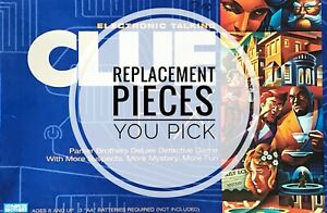 Clue FX Replacement Parts Electronic Board Game - Parker Brothers 2003 You Pick
