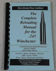 .243 Winchester Reloading Manual LOADBOOKS USA   243 Win  Latest 2016 Ed. NEW