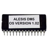 Alesis DM5 firmware OS upgrade: v 1.02 - Final Update Eprom DM-5 Drum Module