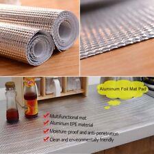 Cabinet Aluminum Foil Kitchen Drawer Mat Oil Resistant Pad Waterproof 30x300cm