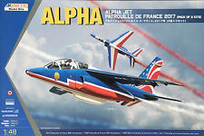 Kinetic Model - 1/48 Alpha Jet Patrouille De France 2017 (2 Pack) - K48046