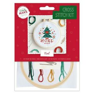 Docrafts Simply Make Noel Cross Stitch Kit DSM 106161