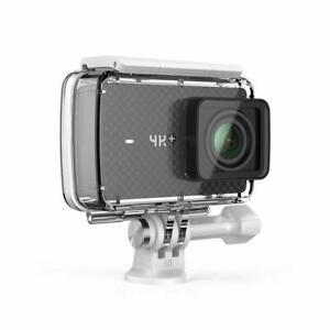 YI 4K+ Plus Action Camera 4K/60fps 12MP Zubehörpaket Unterwassergehäuse App WiFi