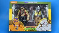 NECA TEENAGE MUTANT NINJA TURTLES BEBOP & ROCKSTEADY 2 PACK TARGET EXCLUSIVE