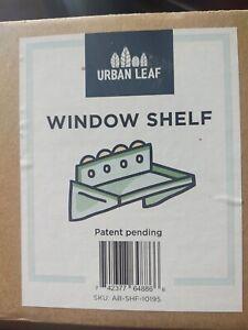 Urban Leaf - Suction Cup Shelf for Plants Window Bathroom or Kitchen