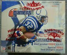 2000 Fleer Gamers Football Factory Hobby Box.