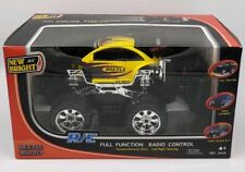 New Bright Beetle R/C Buggy Yellow Full Function Wheel Alignment 80 ft Range NEW