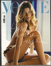 GISELE BUNDCHEN Brasil BRAZIL Vogue Magazine 2003 SPECIAL ISSUE ALL GISELE