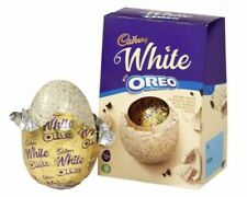 ❤️ Cadbury White Chocolate Oreo Easter Egg Large 220g * In Date *