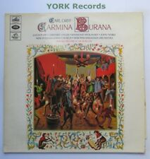 San 162-Orff-Carmina Burana de Burgos New Philharmonia orch-EX LP record