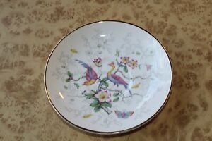 Coalport BIRD OF PARADISE Tea Cup Plate ~ Vintage Teacup Replacement Plate