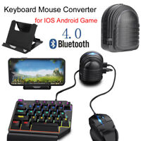 PUBG Mobile Phone Gamepad Controller Keyboard Mouse Converter Adapter Bluetooth