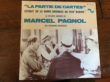 LA PARTIE DE CARTES   DISQUE 45 TOURS   EXTRAIT DU FILM MARIUS   MARCEL PAGNOL