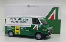 MODELLINO 1/18 CAMION FURGONE FIAT ALITALIA ASSISTENZA AUTO RALLY LAUDORACING