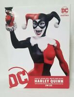 DC Collectables HARLEY QUINN RED WHITE and BLACK ..Jim Lee Statue MIB! BATMAN