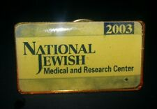 "Pinback Button NATIONAL JEWISH MEDICAL AND RESEARCH CENTER 2003 3/4"" long"