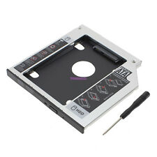 9.5mm SATA to SATA 2nd SSD HDD Hard Drive Caddy Adapter Tray for DELL HP
