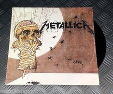 """Metallica 'One' EU 89 Original 3-track 12"""" Maxi Single Rare OOP VG+/EX- Hetfield"""