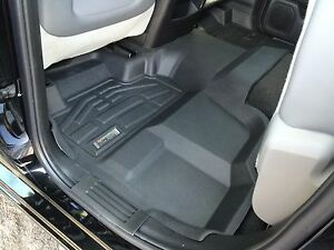 2nd Row Sure-Fit Floor Mats for a 2016-2020 Nissan Titan / Titan XD