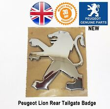 Peugeot 3008 Lion Badge Emblem Emblems Logo Tailgate Rear Boot  Genuine New X1