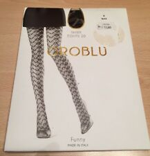 Oroblu Sheer Tights Strumpfhose Funny Größe S Black / Schwarz *neu* ➿➿➿