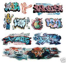 O Scale Custom Graffiti Decals #3 - Weather Your Box Cars, Gondolas & Hoppers!