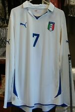 NWT Authentic Puma 2012 Italy Del Piero long sleeve Jersey XXL juventus