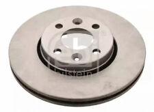 Front Brake Disc fits Renault, Dacia, Nissan FEBI BILSTEIN 24165