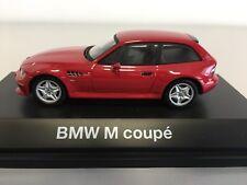 Bmw Z3M Coupé 1997 1/43 Schuco Imolarot With Original Dealer Box NEW
