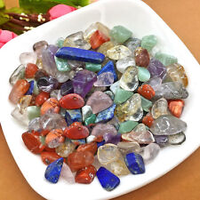 50g 7-9mm Natural Tumbled Colorful Quartz Crystal Healing Buddha Ornaments