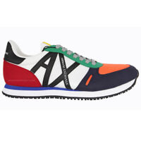 Armani Exchange Men's Shoes Sneakers XUX017 XCC68 k512 Multicolor spring