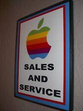 Apple Macintosh Computer Repair Shop Store Framed Advertising Man CavePrint Sign