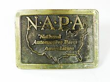 NAPA National Automotive Parts Association Belt Buckle By Lewis Buckles 72816