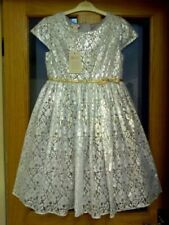Monsoon Party Silver Dresses (2-16 Years) for Girls