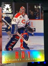 PATRICK ROY TOM BARRASSO 1993-94 Leaf Gold Leaf ALL-STARS Insert Card #5