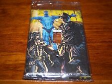 WATCHMEN NITE OWL DOCTOR DR. MANHATTEN RORSHACH LIGHT SWITCH PLATE