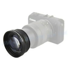 52mm 2xHD pro telephoto zoom lens for Canon EOS M Nikon D5200 D5100 D3200 D7100