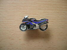 Pin badge Kawasaki zzr 1100/zzr1100 Bleu/Noir Art. 0041 badge spilla