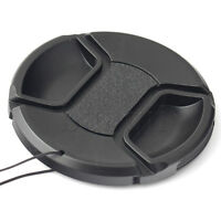 72mm Center-Pinch Snap-on Front Lens Cap Cover for Canon 550D 7D 5DIII 60D MA