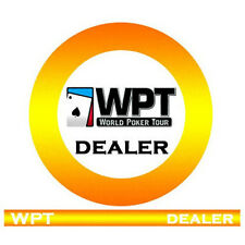 Dealer button ceramica WPT - World Poker Tour