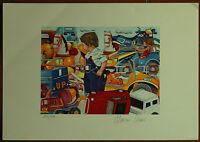 MARCO  CIVAI litografia su carta 50x35 firmata e numerata 140/150 esemplari