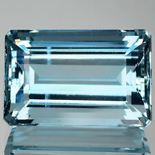 13.02 Cts ATTRACTIVE NATURAL RARE SANTA MARIA BLUE AQUAMARINE GEM (VIDEO AVL)