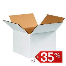 40 pezzi SCATOLE DI CARTONE imballaggio spedizioni 40x40x40cm scatoloni bianchi