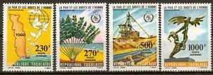 T4371 Friede und Menschenrechte  Bergbau  Togo 1846/49 **/MNH