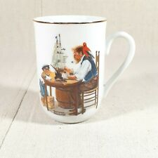 "Norman Rockwell ""For A Good Boy "" Coffee Cup. In Excellant Condition"