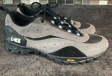 Lake Clip-In Lace-Up MTB Mountain Bike Cycling Shoes | Men's Size 10 EU 44