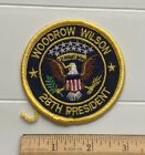 President Woodrow Wilson 28th President United States Eagle Seal Crest Patch