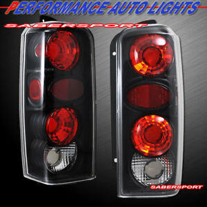Set of Pair Black Altezza Taillights for 1997-2001 Jeep Cherokee
